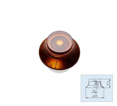 Bell Knob - Amber