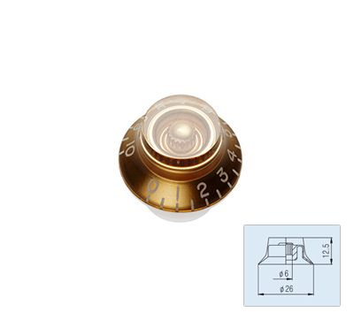 Bell Knob - Gold